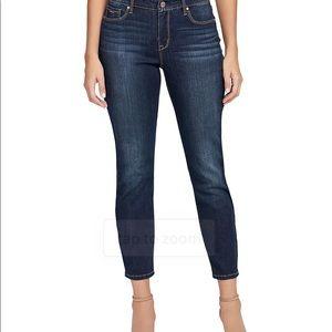 NWT Nine West Gramercy Skinny Ankle Jeans